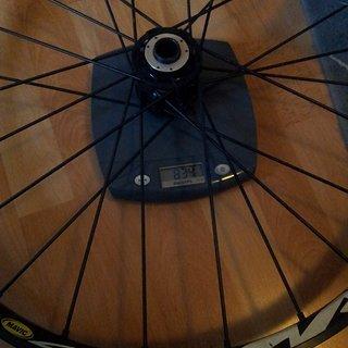 """Gewicht Mavic Systemlaufräder Crossmax XL 26"""""""