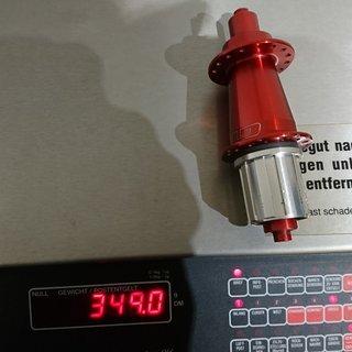 Gewicht GT Nabe Hadley HR 135mm/QR 32-L