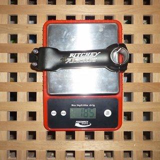 Gewicht Ritchey Vorbau Comp 25.4mm, 120mm, 6°