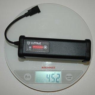 Gewicht Lupine Beleuchtung SmartCore Akku 11.2 Ah