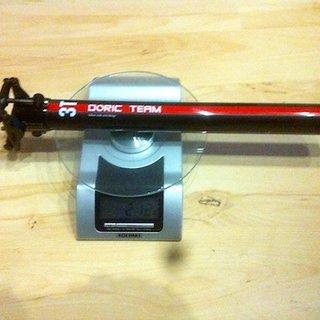 Gewicht 3T Sattelstütze Doric Team Carbon 31.6 x 400mm
