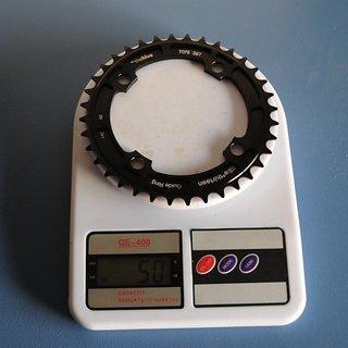 Gewicht e-thirteen Kettenblatt Guide Ring 104mm, 36Z