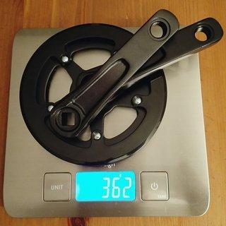 Gewicht Kaniabikes Kurbel Kurbel Leicht 114 mm