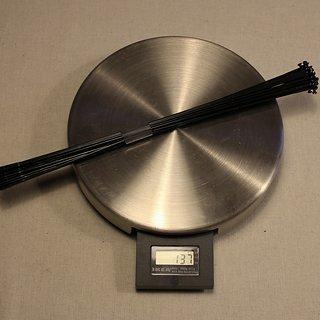 Gewicht Sapim Speiche Laser 261mm, 32 Stück