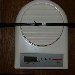 Gewicht DT Swiss Speiche Revolution 258mm, 16 Stück