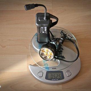 Gewicht Lupine Beleuchtung Betty R 12 11,2 Ah Akku