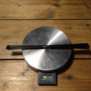 Gewicht Sapim Speiche D-Light 272mm, 32 St.