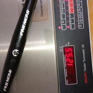 Gewicht Far & Near Lenker Flat Handle Bar 31.8mm, 600mm