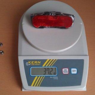 Gewicht AXA Beleuchtung Slim Steady