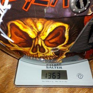 Gewicht O'Neal Helm Rockhard Slayer limited Edition 9999 Stück M