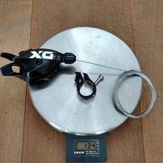 Gewicht SRAM Schalthebel X01 Eagle
