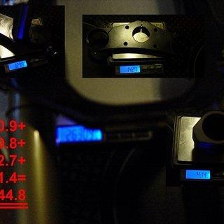 "Gewicht BOS Federgabel Idylle DC 26"", 200mm, 1⅛"""