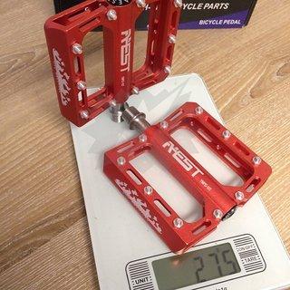 Gewicht Aest Pedale (Platform) YRPD-10T 95x91x16mm
