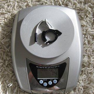 Gewicht DT Swiss Remote-/Lockout-Hebel Remote Lock Out Kit Twin Shot