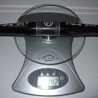 Gewicht Ghost Lenker CG Carbon SL Flat 31.8mm, 640mm