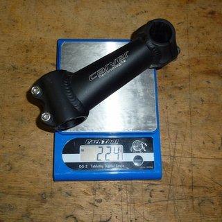Gewicht Carver Vorbau XC 25.4mm, 120mm