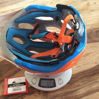 Gewicht Alpina Helm Carapax 57-62 cm