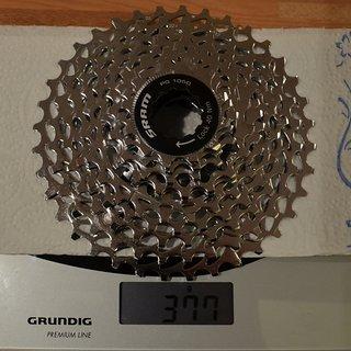 Gewicht SRAM Kassette PG-1050 10-fach, 12-36Z