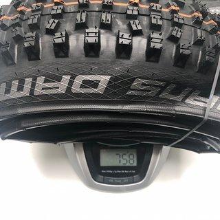 Gewicht Schwalbe Reifen Hans Dampf Addix Soft 27,5x2,35