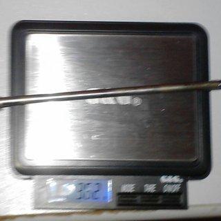 Gewicht Fuxon Spannachse CrMo-Spannachse 135mm