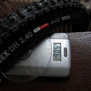 """Gewicht Onza Reifen Ibex DH  26x2.4"""" / 61-559"""