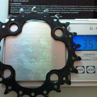 Gewicht Shimano Kettenblatt SLX FC-M660 64mm, 22Z