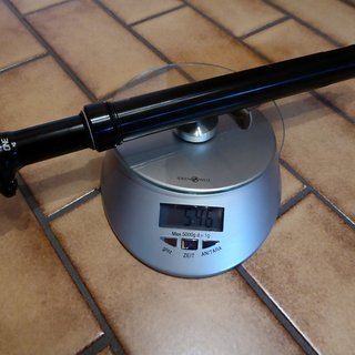 Gewicht OneUp Sattelstütze höhenverstellbar Dropper Post 170 mm 30,9 30,9