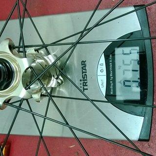 """Gewicht Easton Systemlaufräder Haven 26"""" VR: 100mm/15"""