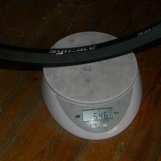 Gewicht Syntace Felge W35 650b Felge 650b