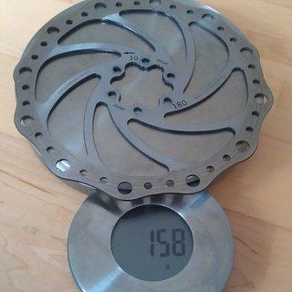 Gewicht BBB Bremsscheibe BBS-85 180mm