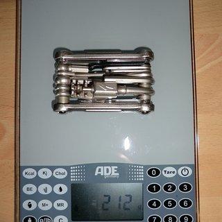Gewicht Specialized Werkzeug EMT Comp