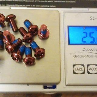 Gewicht Ashima Schrauben, Muttern Linsenkopfschraube M5x10, Stahl