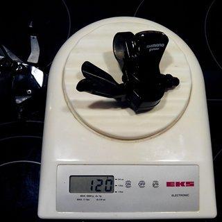 Gewicht Shimano Schalthebel SL-R440 9-fach