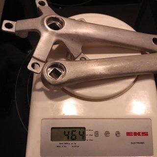 Gewicht Suntour Kurbel XC Comp (tuned) 145mm, 68/73mm, 4-kant