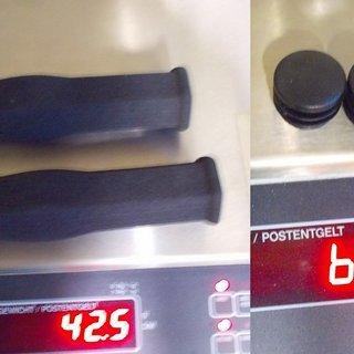 Gewicht Mounty Special Griffe Lite Grips 125 mm