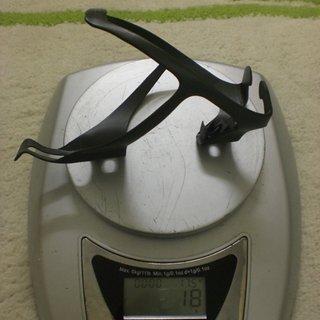 Gewicht Radon Flaschenhalter UD Carbon Hangtime