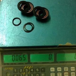 Gewicht FRM Innenlager Cu2-M 18NSPressfit 92mm Pressfit 92