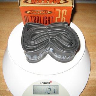 """Gewicht Maxxis Schlauch Ultralight SV/26x1.9-2.1"""""""