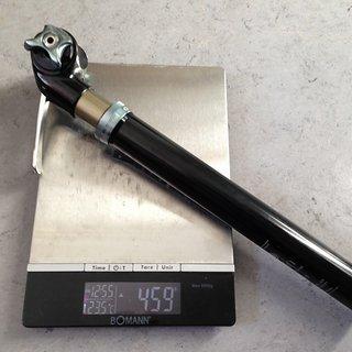 Gewicht Crank Brothers Sattelstütze höhenverstellbar Joplin 30.9 x 398mm