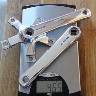 Gewicht Shimano Kurbel XT FC-M730 (tuned) 150mm, 4-kant