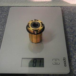 Gewicht Hope Weiteres/Unsortiertes Pro 2 Alu Freilauf 12x135 mm