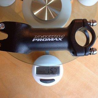 Gewicht PROMAX Vorbau Ahead-Vorbau 25.4mm, 90mm, 10°