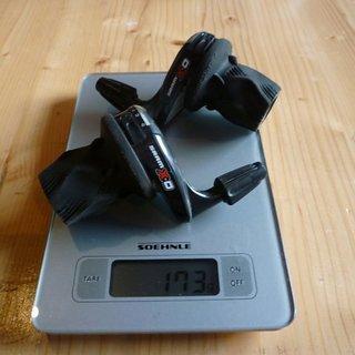 Gewicht SRAM Drehschaltgriff X0 3x9-fach