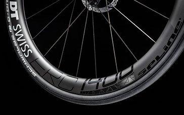 Leichtrollende Laufräder sollen für schnellen Vortrieb sorgen