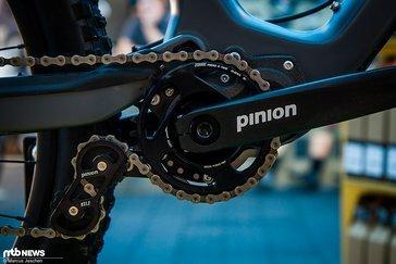 Das Pinion-Getriebe...