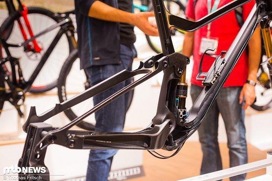 Wie sieht ein superleichtes Trail-Bike im Schnitt aus? So.