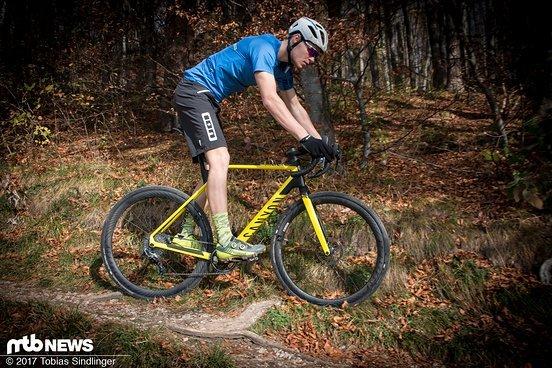Der verlängerte Radstand sorgte in der Praxis für einen spürbaren Zugewinn an Laufruhe und Sicherheit auf dem Trail