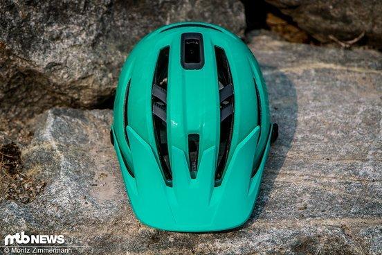 Ziel war es einen Helm mit guter Belüftung ...