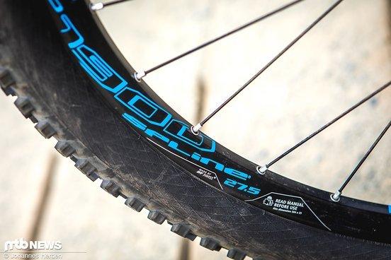 Die DT Swiss E1900 Spline-Laufräder haben sich als sehr stabil erwiesen.