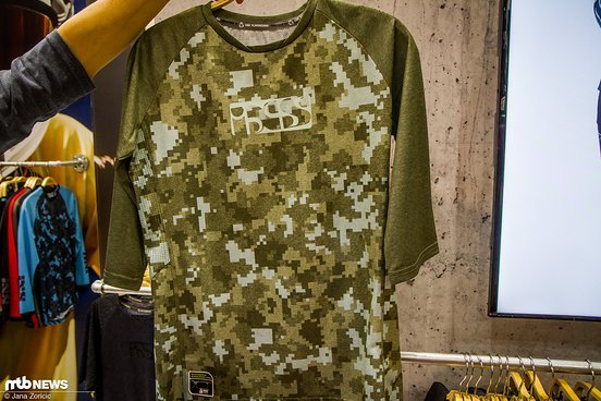 "Die Frauen-Jersey ""Vibe"" in Olive Camo"